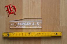 Befiederungs-Schablone Kurgan 4,5