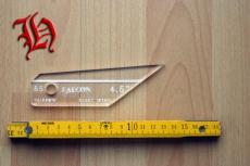 Befiederungs-Schablone Falcon 4,5