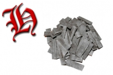 Hornplättchen 2 mm, 6 Stück