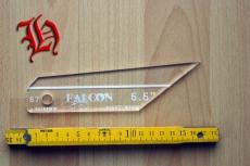 Befiederungs-Schablone Falcon 5,5