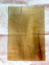 Hornplatte hell 16 x 11 cm, 2-3 mm stark