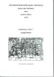 Walter: Joachim Meyer 1570 Arbeitsbuch Mini –Langschwert